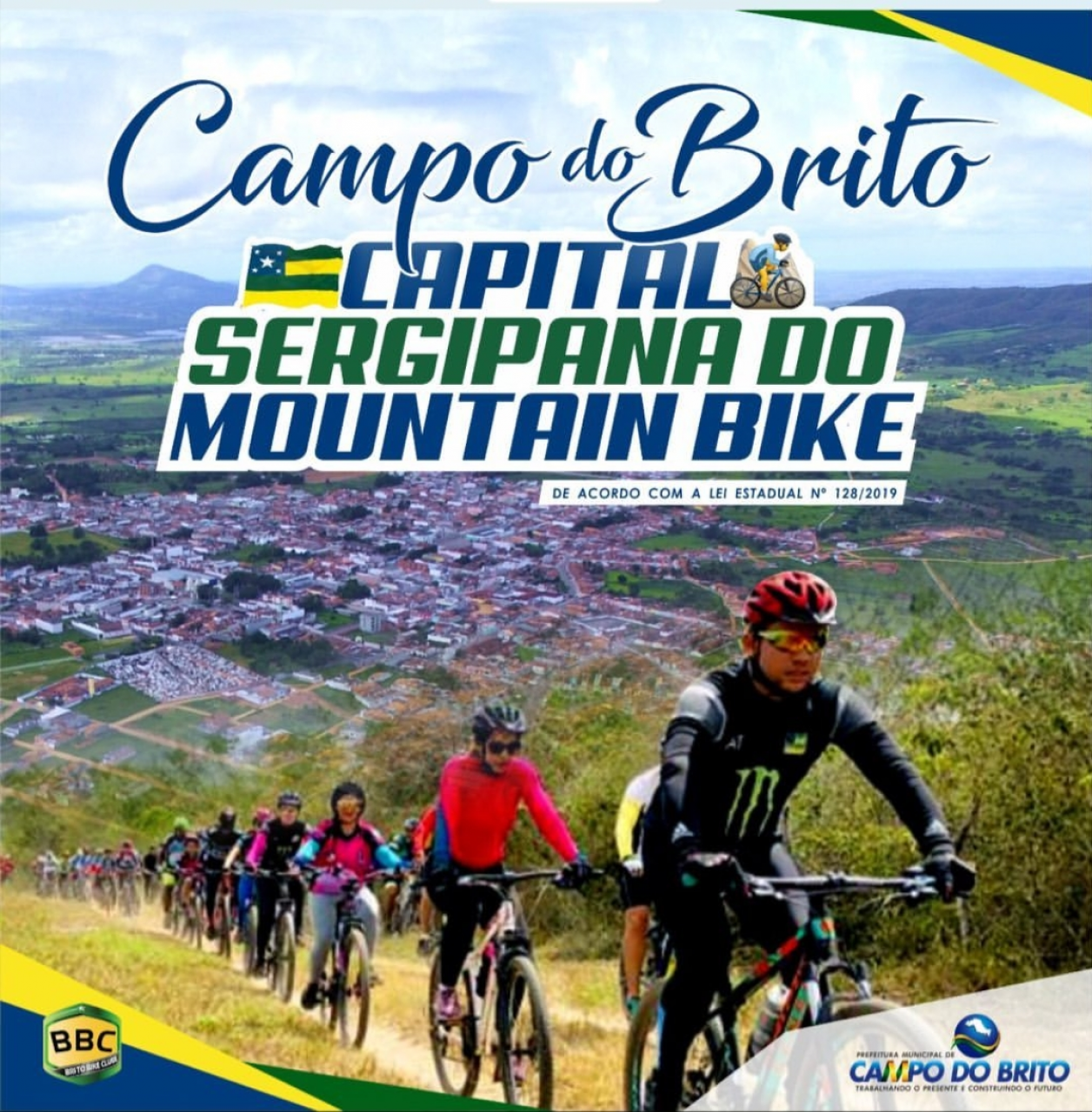 Campo do Brito Recebeu o Título de Capital Sergipana do Mountain Bike